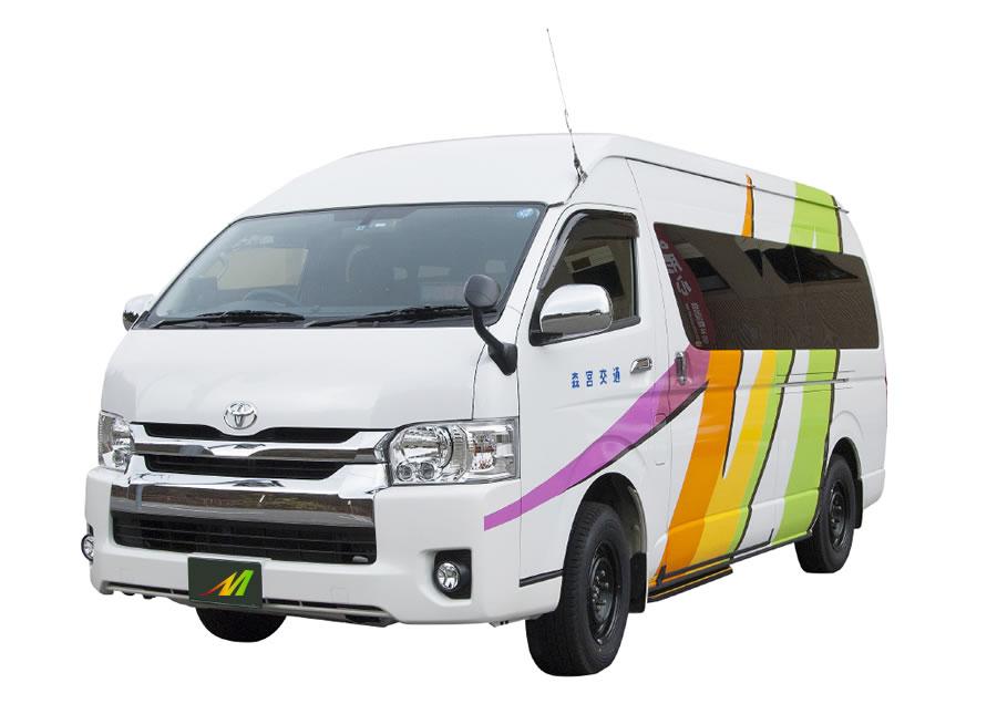 9人乗りジャンボタクシー(特定大型車料金)